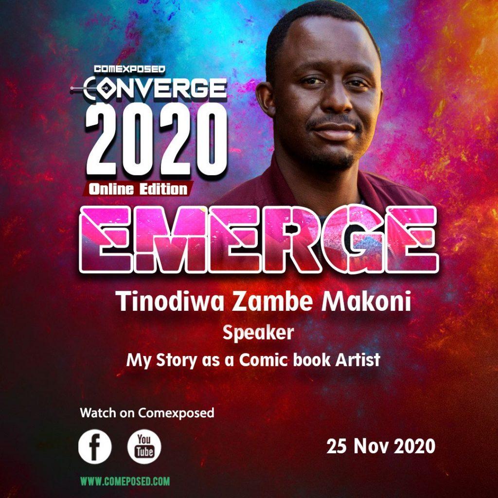 My story as a comic book artist Tinodiwa Zambe Makoni Converge 2020 Comexposed