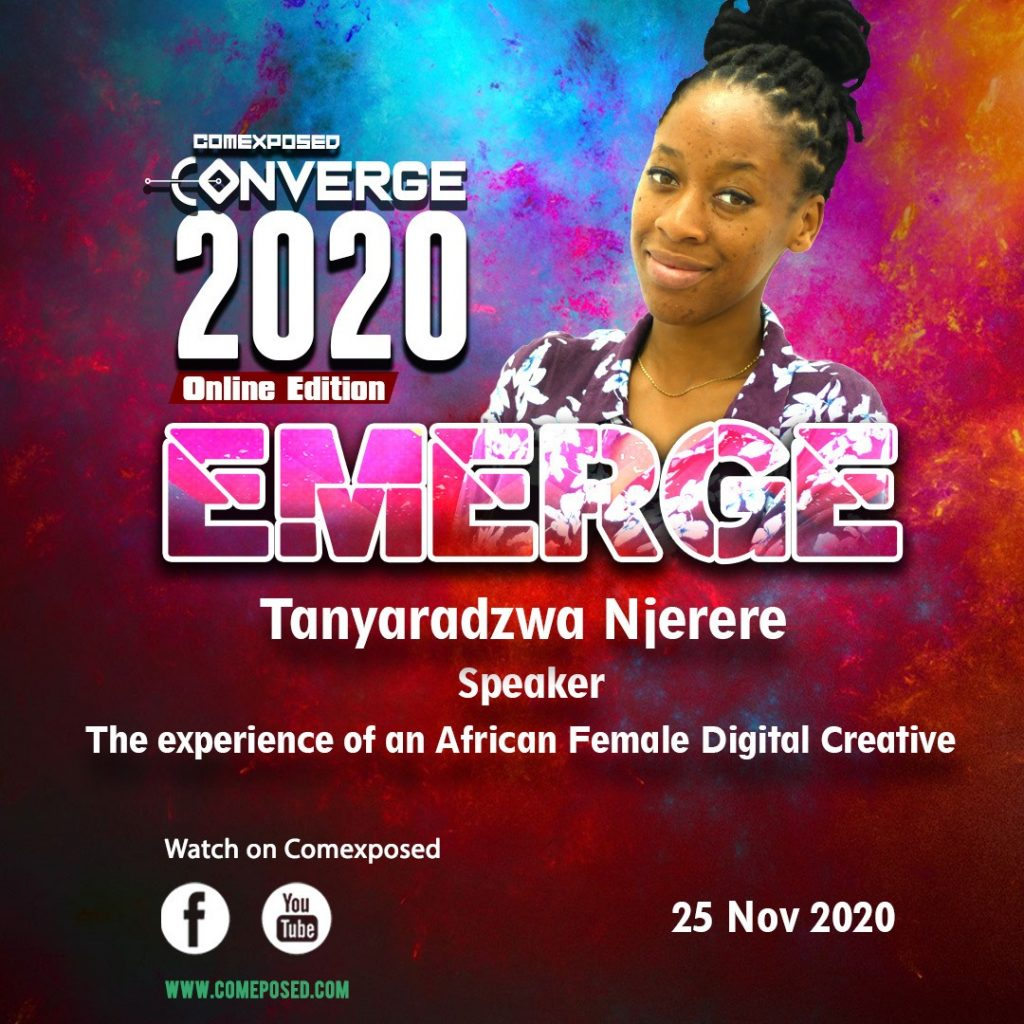 Tanyaradzwa Njerere The experience of an African Female Digital Creative
