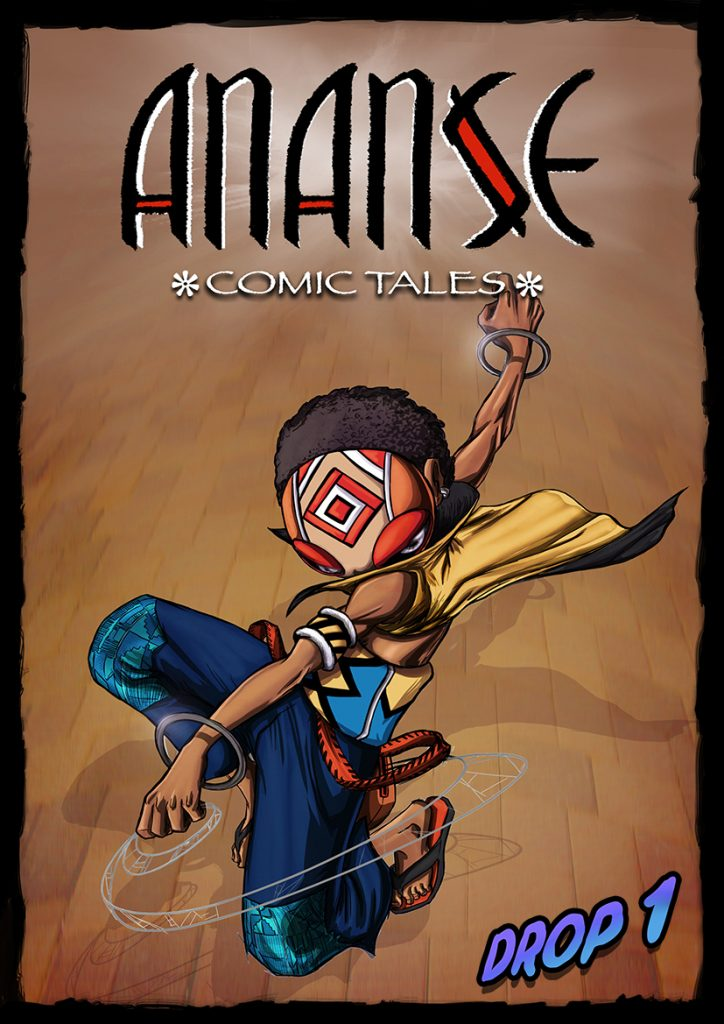 Ananse comic tales drop 1 cover